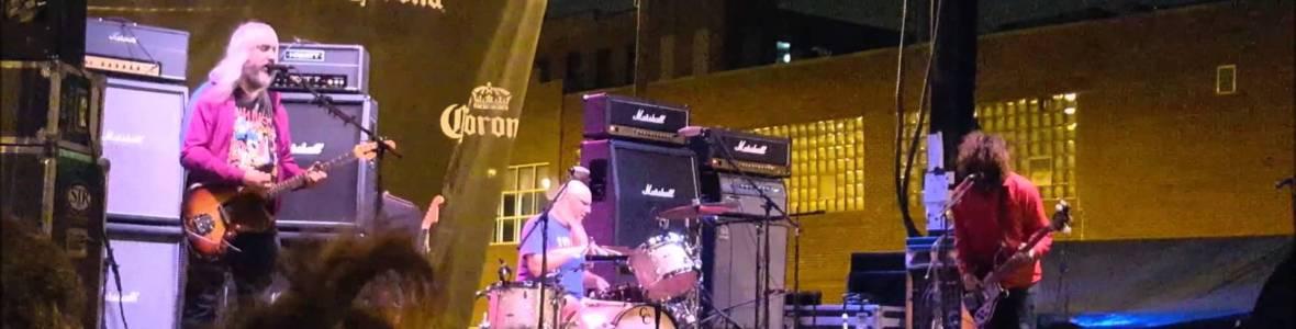 Dinosaur Jr Taste of Randolph Chicago ; 6-19-2015