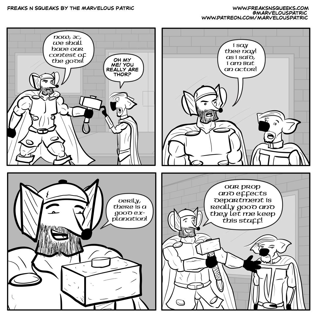 Freaks N Squeaks #2064 – A Good Explanation