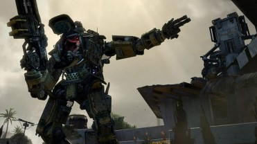 Image taken from the Xbox One version of Titanfall.