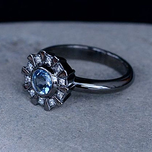 Superhero Wedding Rings