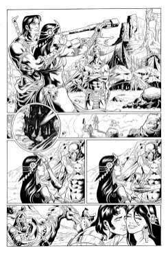 Page 1 from Dynamite's Warlord of Mars #0