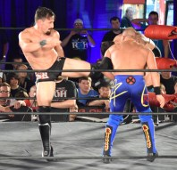 Bobby Fish kicking the shit out of Christopher Daniels