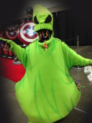 Cause I'm Mr. Oogie Boogie and you ain't goin' nowhere!