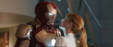Iron Man and Pepper