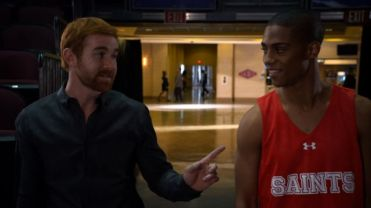 Andrew Santino and Keith Powers