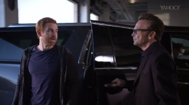 Andrew Santino and Tom Arnold