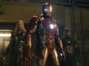 Thor, Iron Man, and Captain America