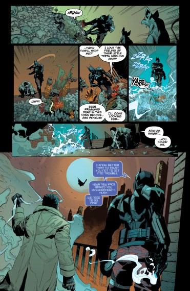 BATMAN: ARKHAM KNIGHT - GENESIS #1 Page 4