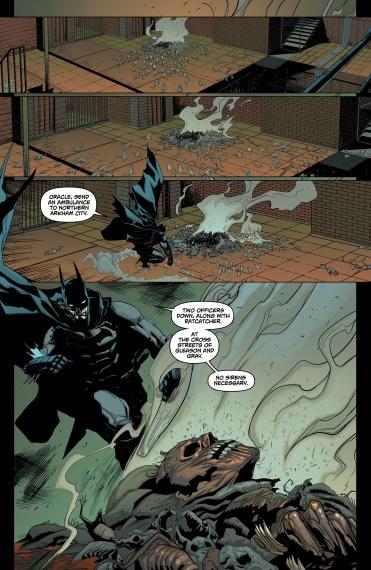 BATMAN: ARKHAM KNIGHT - GENESIS #1 Page 5