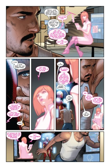 INVINCIBLE IRON MAN #1 page 3
