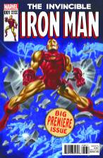 INVINCIBLE IRON MAN #1 Timm variant cover