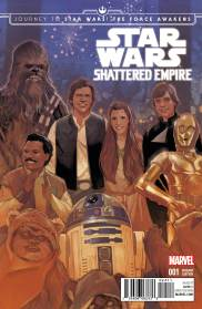 JOURNEY TO STAR WARS: THE FORCE AWAKENS - SHATTERED EMPIRE #1 Phil Noto cover