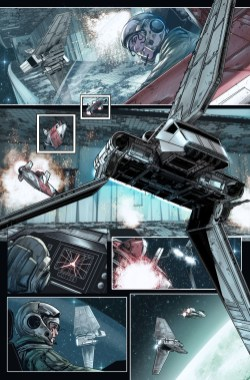 JOURNEY TO STAR WARS: THE FORCE AWAKENS - SHATTERED EMPIRE #1 page 2