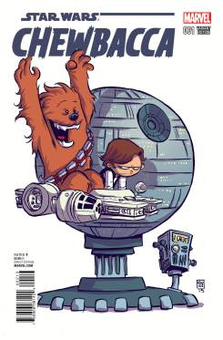 CHEWBACCA #1 Skottie Young variant cover