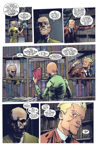 CONSTANTINE: THE HELLBLAZER #5 page 5