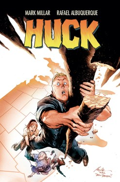 "Huck #1 ""Feel Good Movie"" Variant Cover"