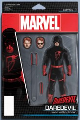 DAREDEVIL #1 action figure variant cover