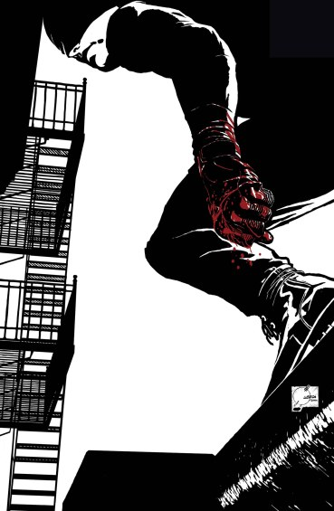 DAREDEVIL #1 Quesada variant cover