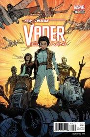 STAR WARS: VADER DOWN #1 Jones variant cover