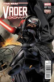 STAR WARS: VADER DOWN #1 Mann variant cover