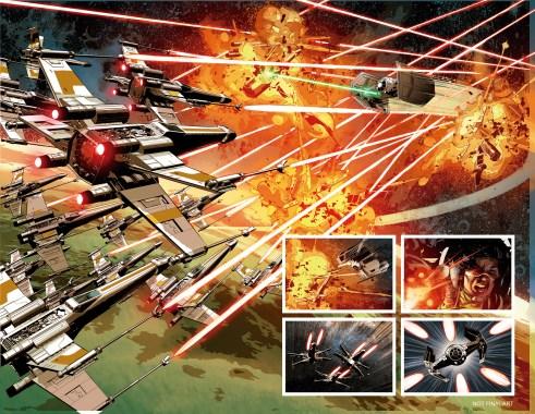 STAR WARS: VADER DOWN #1 page 1