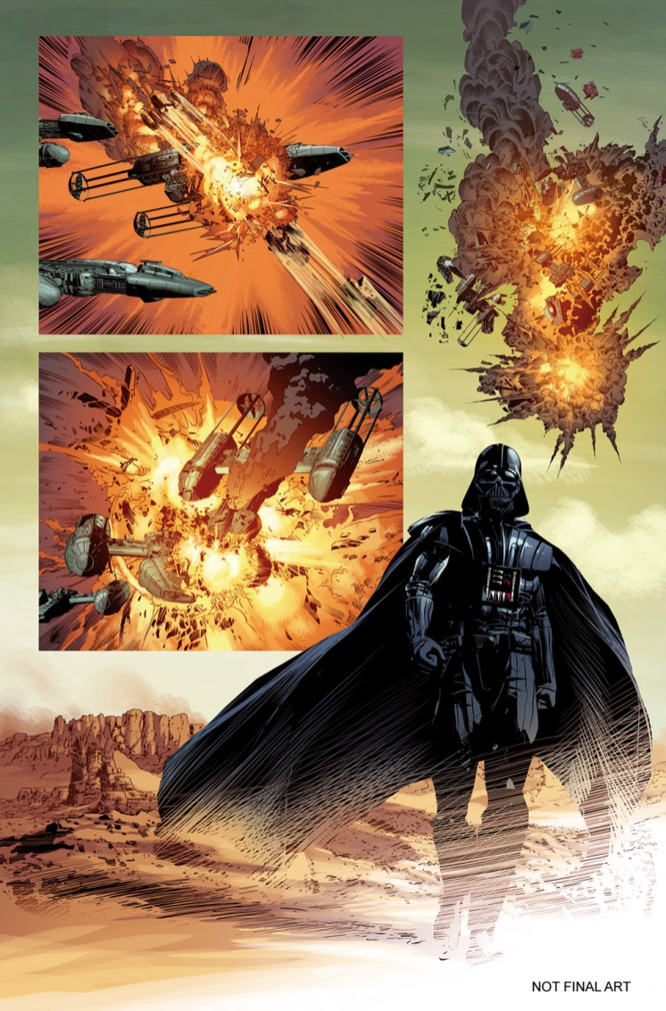 STAR WARS: VADER DOWN #1 page 3