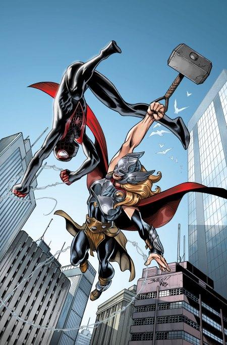 SPIDER-MAN #1 Mark Bagley variant cover