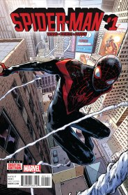 SPIDER-MAN #1 cover