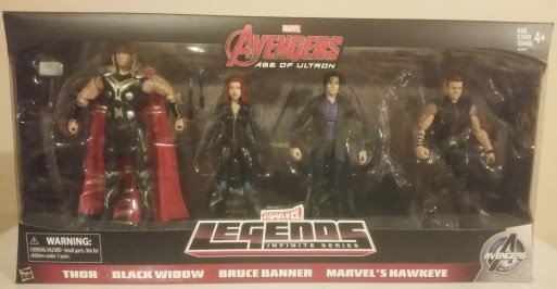 Avengers Amazon Boxed Set 1