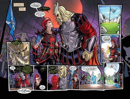 RED THORN #4 pages 2-3