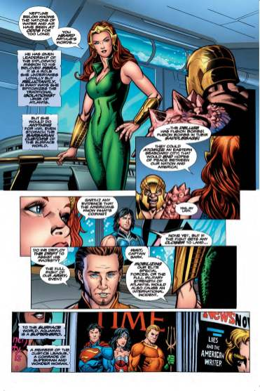 AQUAMAN: REBIRTH #1 page 1