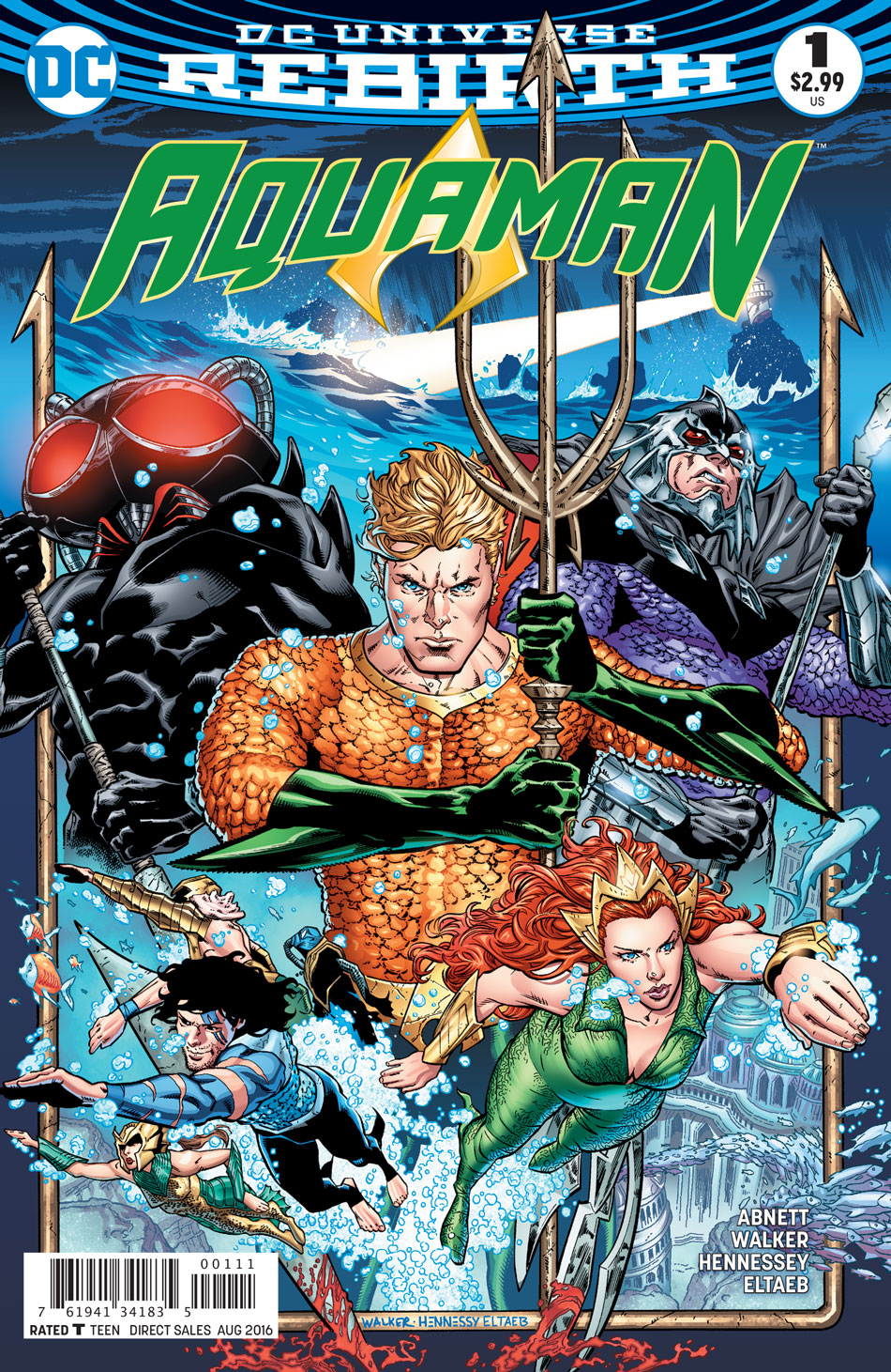 brad walker  u0026 dan abnett discuss aquaman   u0026quot rebirth