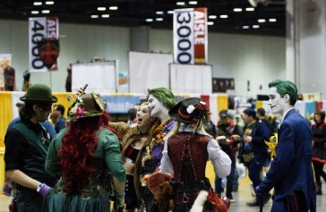 Happy attendees at MegaCon Orlando 2017