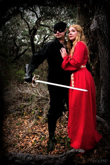 Buttercup with the Dread Pirate Roberts
