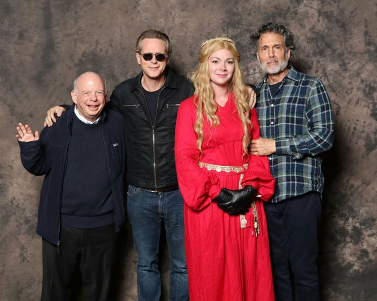 Lauren with cast members of the Princess Bride at MegaCon.