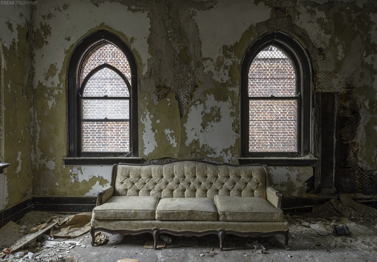 Abandoned Buffalo