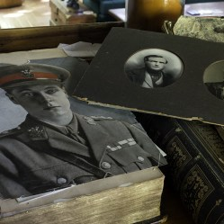 Old Photos in an abandoned ontario house