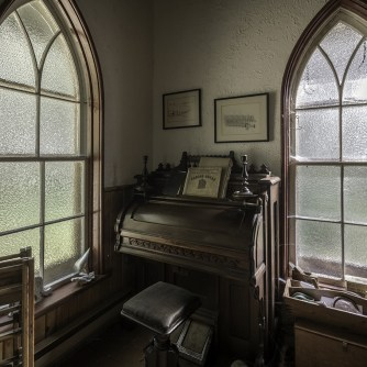 Abandoned Ontario House Pump Organ