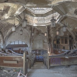 Abandoned Detroit cathedral