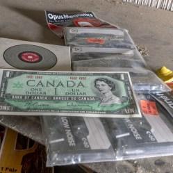 Canadian Centennial Dollar Bill