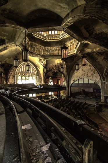 Abandoned Church in Detroit