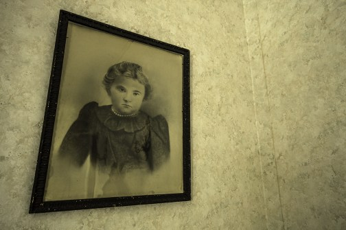Creepy Girl Portrait