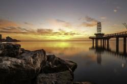Burlington Photography Pier Sunsise