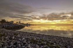 Burlington Rock Beach Sunrise.