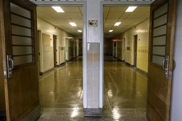 Ontario Abandoned Psychiatric Hospital Freaktography Hallways