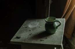 Ceramic piece found in an abandoned house