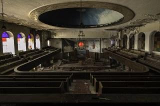 Abandoned Detroit Church