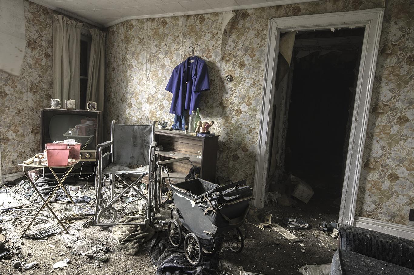 Abandoned Living Room s