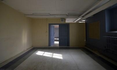 Ontario Abandoned Psychiatric Hospital-basement Blue s