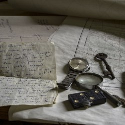 An assortment of items found inside an ontario abandoned house